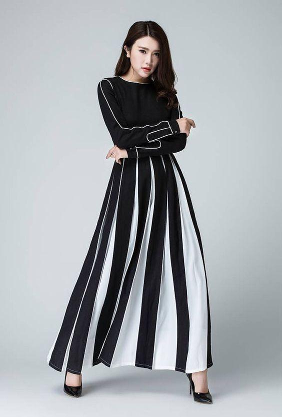 linnen jurk maxi jurk womens jurken prom jurk witte en door xiaolizi