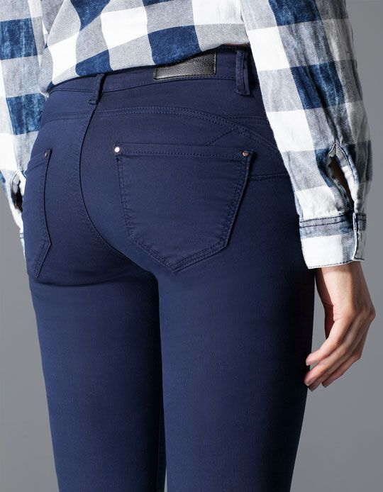 Beige Skinny Jeans For Women