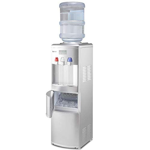 Costway 2 In 1 Water Cooler Dispenser With Built In Ice M Https Www Amazon Com Dp B07fnk4cbs Ref Cm Sw R Pi Dp Water Dispenser Ice Maker Machine Ice Maker