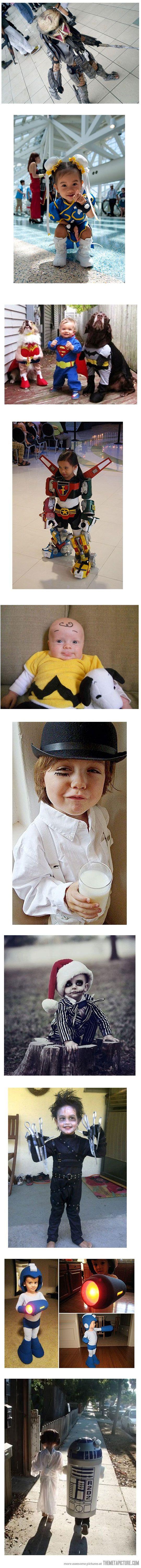 Superbes costumes pour enfant