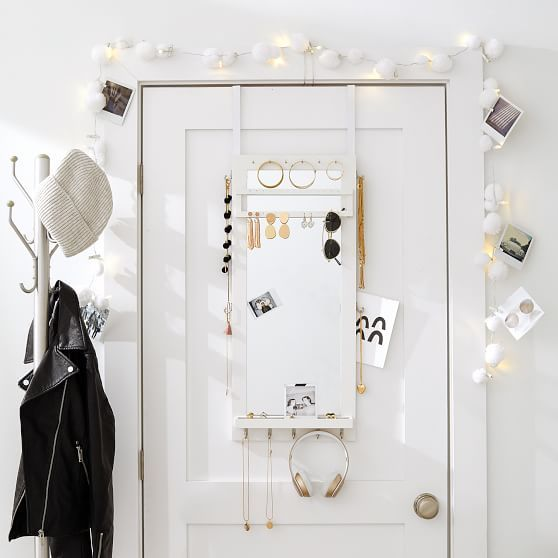 Over The Door Jewelry Organizer In 2020 Jewelry Organization Organization Bedding Shop