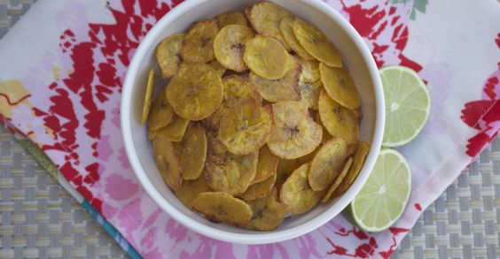 Sweet Lime Plantain Chips ‹ The Eighty Twenty