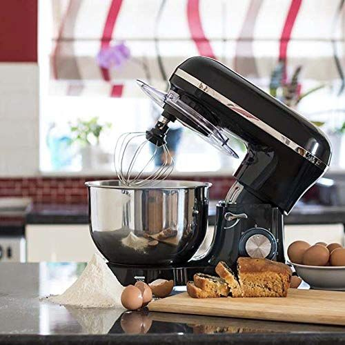 Jack Stonehouse Food Stand Mixer 1400w 5 5l Bowl 4 In 1 Beater Whisk Dough Hook And S Food Stands Splash Guard Stand Mixer