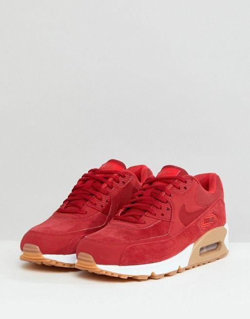 Discover Fashion Online   Nike air max, Nike air max 90, Red