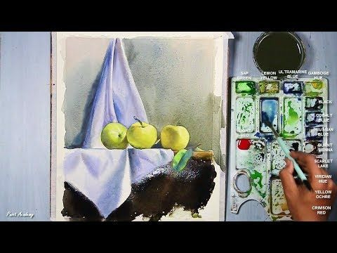 Painting A Realistic Still Life In Watercolor Episode 3