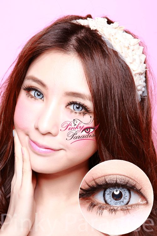 eos dolly eye grey circle lenses colored contacts div - Coloration Eos