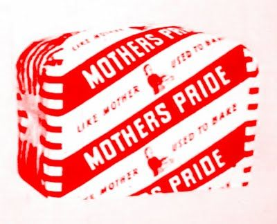 MOTHERS PRIDE IN THE 60'S.  The packaging has changed but Mother's Pride bread is still made by British Bakeries (part of Premier Foods) who also make Hovis and Nimble.