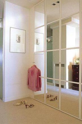 Como Vivir En Espacios Pequenos Puertas Armarios Empotrados Puertas De Armario Con Espejos Armarios De Dormitorio