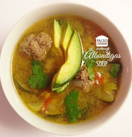 celery soup recipes bacon turkey meatball soup paleo soup cilantro ...
