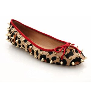 Amber Ballerina Flat now featured on Fab.  For the rocker chick that wants to be comfy while still kicking butt :)