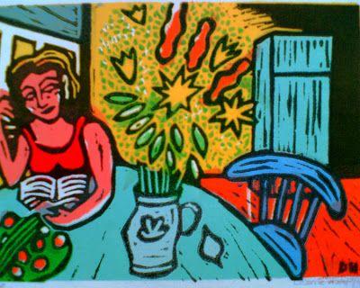 Diane Huijts, Lezende vrouw