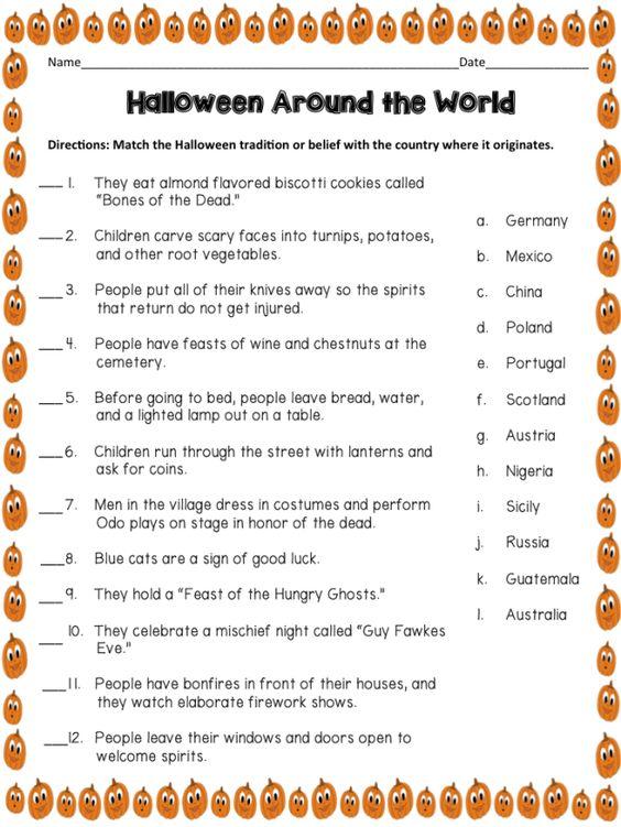 7 Quick Halloween Creative Writing Prompts