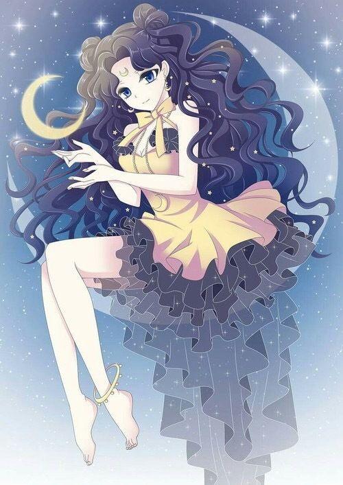 Imagen De Anime Luna And Sailor Moon Cizim