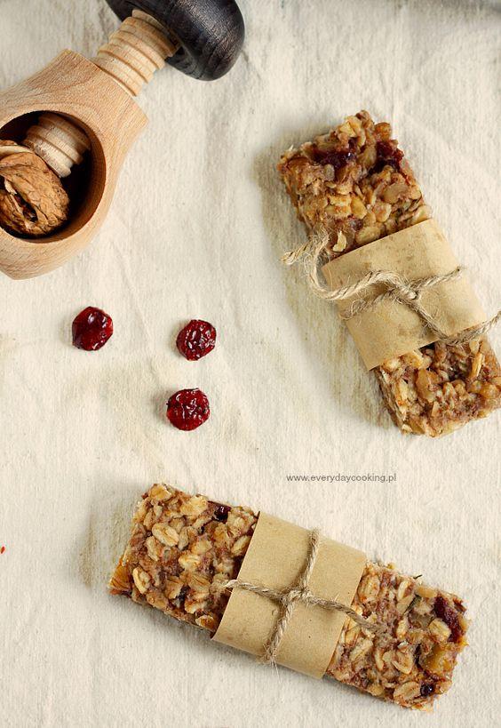 Owsiane batoniki jabłkowe / Apple oatmeal bars