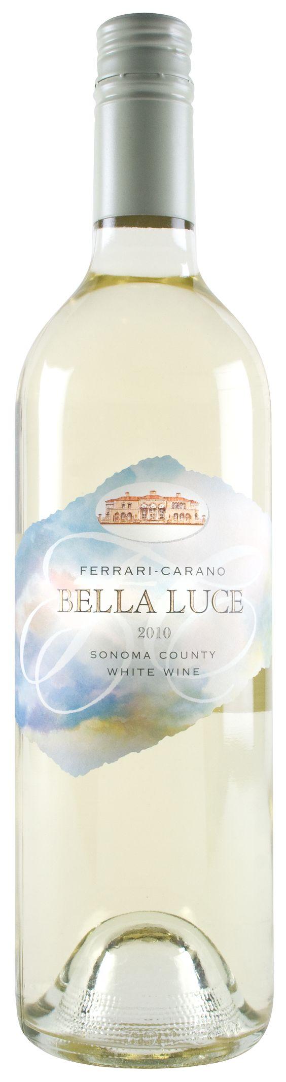 Ferrari Carano's Bella Luce: A white blend wine - delicious!