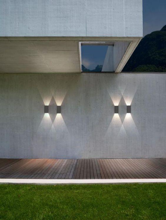 1000 id es sur le th me patio contemporain sur pinterest - Eclairage exterieur contemporain ...
