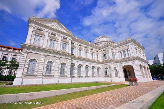 Bảo tàng Quốc gia Singapore nhìn từ bên ngoài