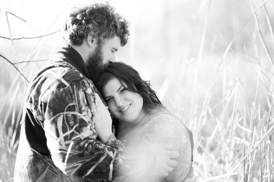 MN Engagement Photography - Duck Hunting Engagement Photos - Hunting Engagement Pictures - Midwest Engagement Pictures