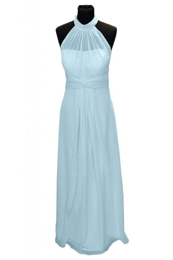 Victoria Dress Exquisite Chiffon Evening Dresses for Women Formal Party Gowns-2-Light Sky Blue