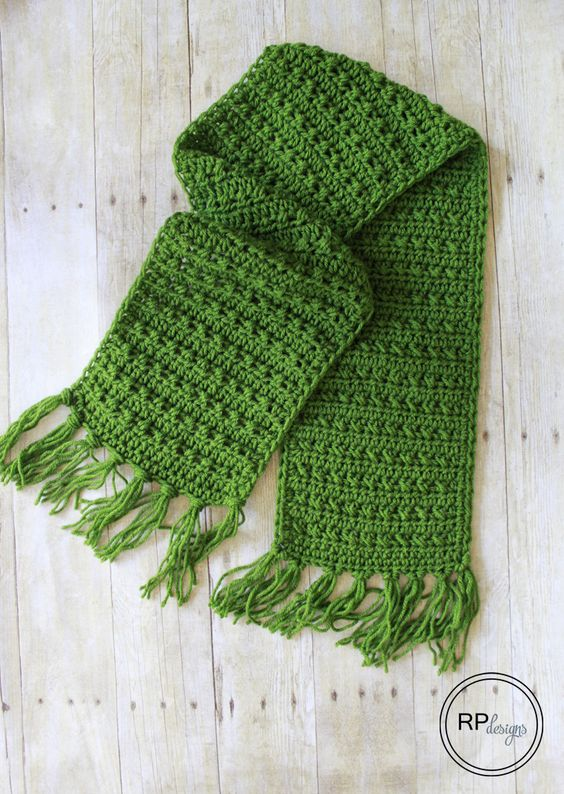 Fabulously Fall Fringe Scarf – Free Crochet Pattern - Rescued Paw Designs: