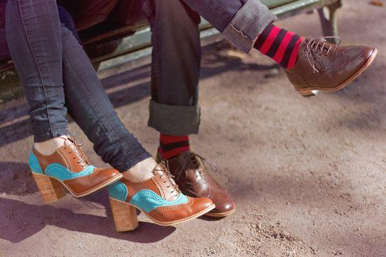 Vicky y Luis¡¡ so cute..  calzados LA HORMA
