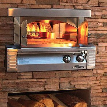 Quit ordering take-out! Make your own pizza with this Alfresco 30-Inch Natural Gas Outdoor Built-In Pizza Oven! Shop @shopperschoice & earn 3.6% CASH BACK from DealAction!