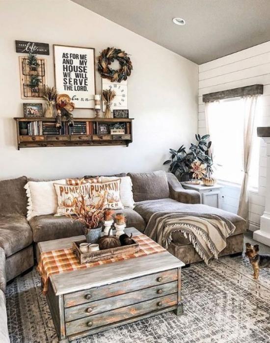 24 Amazing Farmhouse Living Room Decor And Tips How To Create It Western Living Room Decor Farm House Living Room Farmhouse Decor Living Room