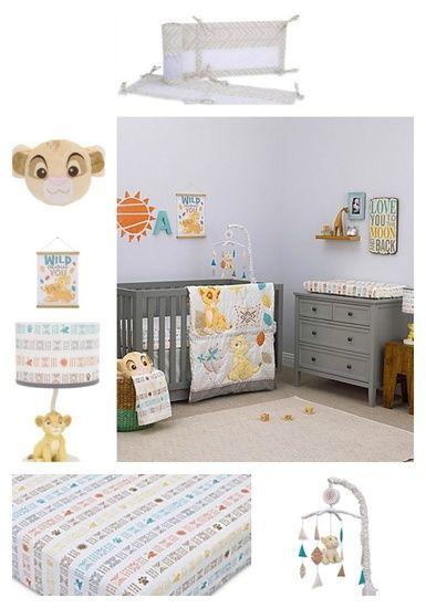 Baby Boy Bedding Sets Nursery, Baby Crib Bedding Set Lion King
