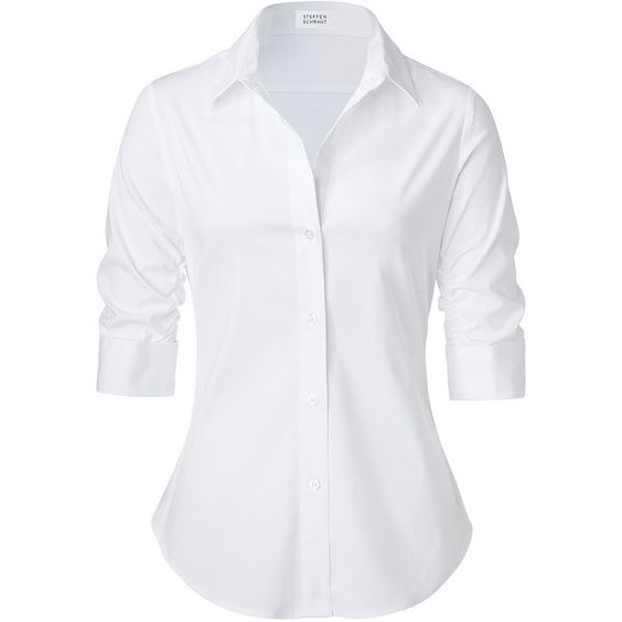 STEFFEN SCHRAUT White Valencia Fancy Blouse via Polyvore | Fashion ...