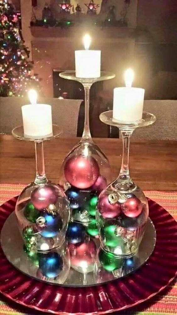 Candelabra of Christmas Joy: