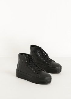 Junya Watanabe Black High Top Sneaker