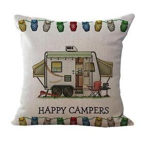 Car-Print-Seat-Linen-blend-Pillow-Case-Sofa-Waist-Throw-Cushion-Cover-Home-Decor