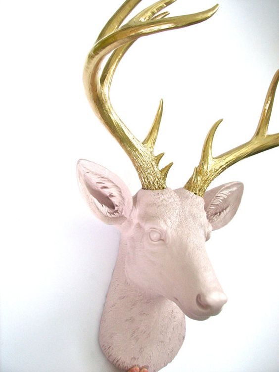 Doug is an awesome size!! He rests majestically on any wall, and his antlers extends out and forward in such a splendid and elegant way.  Made out