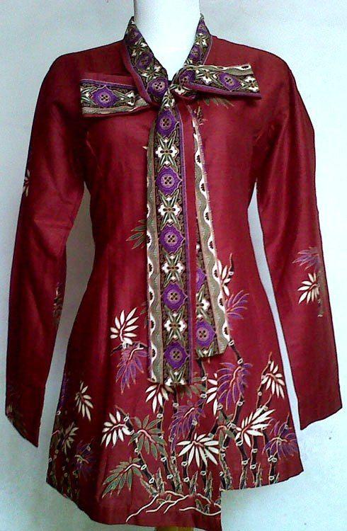 Model Baju Batik Modern Yang Baru Dan Model Baju Batik