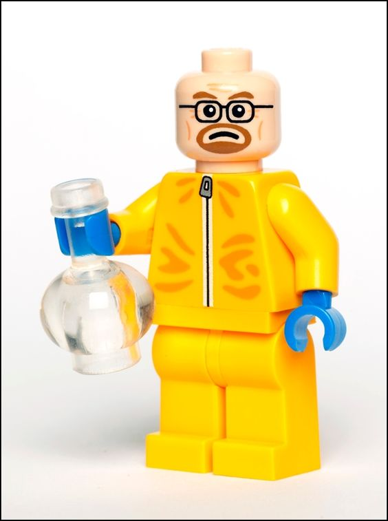 Breaking Bad Mr. White LEGO Minifig. YOU NEED IT!