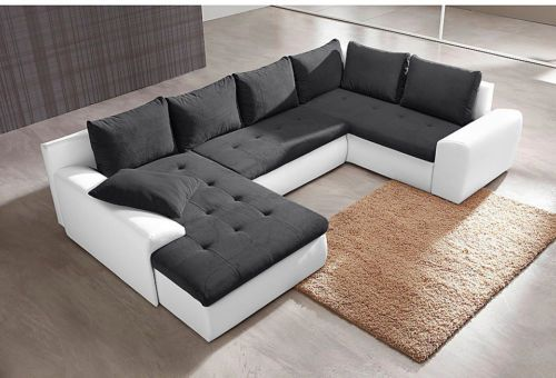 jvmoebel ledersofa couch sofa ecksofa modell berlin iv u form sofas pinterest - Etagenbett Couch Lego Film