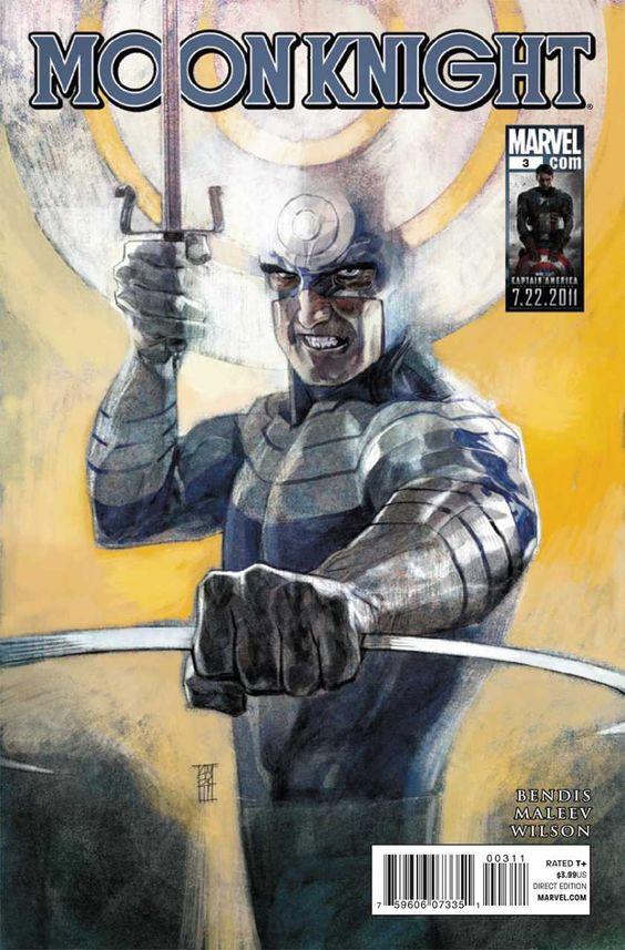 Moon Knight Vol. 5 # 3 by Alex Maleev