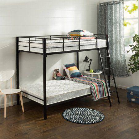 Slumber 1 By Zinus Comfort 6 Twin Pack Bunk Bed Spring Mattress Mattresses Only Walmart Com Twin Trundle Bed Trundle Bed Mattress Springs