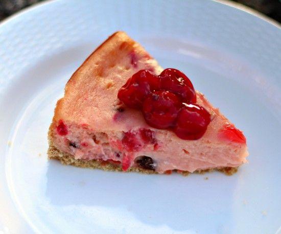 Cherry Chocolate Chip Cheesecake