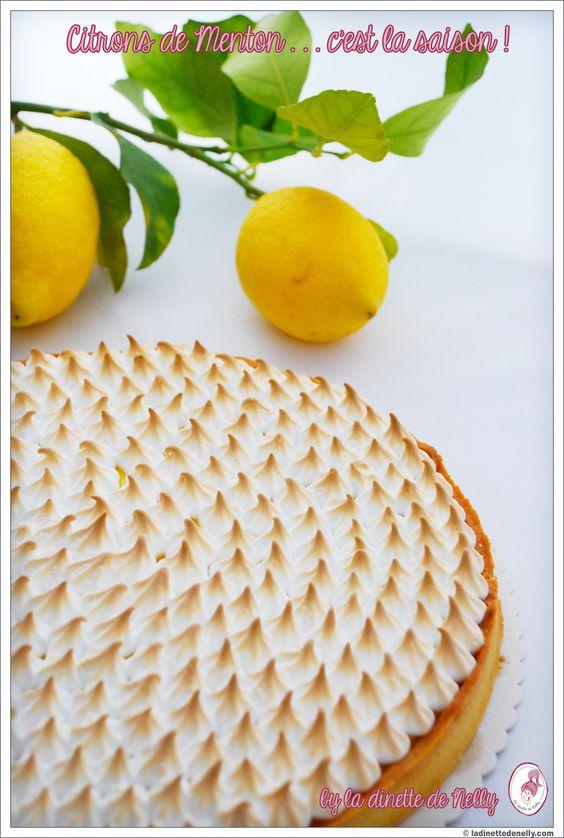La Dinette de Nelly: Tarte au citron meringuée à tomber ... Recette de Pierre Hermé !