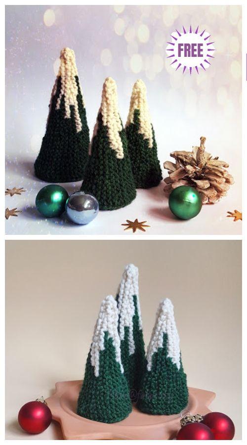 Knit Christmas Tree Free Patterns Free Knitting Pattern