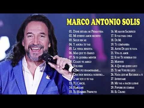 Marco Antonio Solis Sus Mejores Canciones 30 Grandes Exitos Mix Youtube Marco Antonio Solis Marco Antonio Antonio Solis