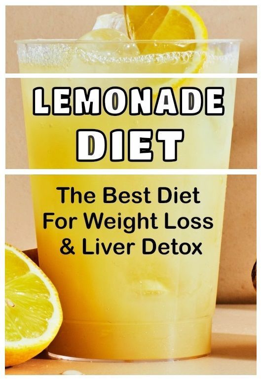 can i eat and drink lemonade diet