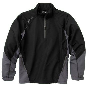 Mens Recovery Half Zip Pullover Golf Jackets