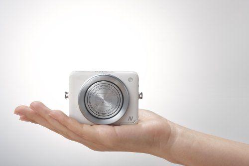 Canon PowerShot N Digitalkamera (12,1 Megapixel, 8-fach opt. Zoom, 7,1 cm (2,8 Zoll) Display, bildstabilisiert, DIGIC 5 mit iSAPS) weiß