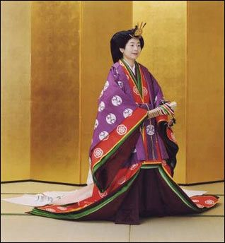 Princess Sayako in ancient Japanese formal court ensemble ...