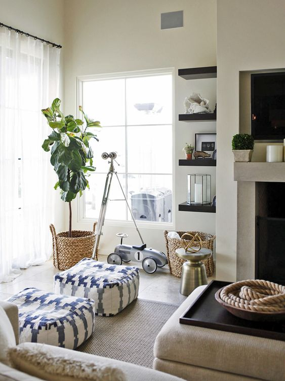 6 Living Room Design Ideas That Add Style and Function (from @camillestyles) >> http://blog.hgtv.com/design/2015/06/22/6-living-room-design-details-that-add-style-function/?soc=pinterest