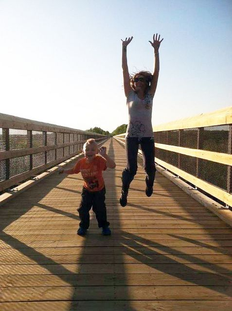 Park Visitors Excited About High Bridge Trail Opening