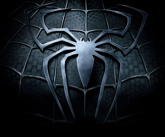 Black spiderman symbol - photo#3
