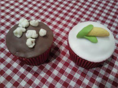 Cupcakes de São João